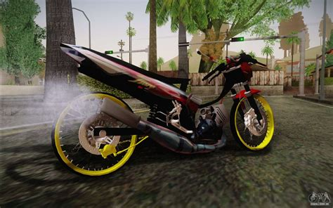 Mod Motor Gta Jupiter Owl by Yamaha Tiara S120 Speed Mx Drag Para Gta San Andreas