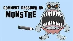 Dessin Qui Fait Tres Peur : comment dessiner un monstre qui fait peur ~ Carolinahurricanesstore.com Idées de Décoration