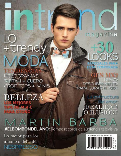 Intrend Magazine - Martín Barba