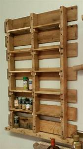Spice Rack from Upcycled Pallet • 1001 Pallets