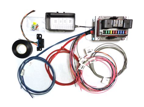 Lt1 Fuse Box Kit by Sa 2000 Stand Alone Fuse Relay Module Cpw Lsx Harness