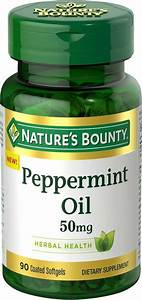 Buy Nature U2019s Bounty Peppermint Oil 50 Mg  90 Coated Softgels  For Rs 2245
