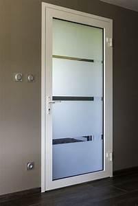 porte d39entree aluminium gerardmer mercier david With porte d entrée verre