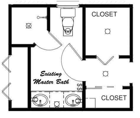 bathroom floor plans with closets ideas for bathroom floor plans with closets