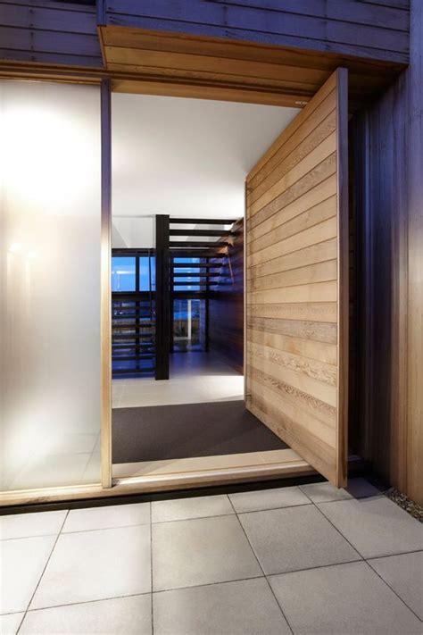 entry decor trend alert  oversized front doors