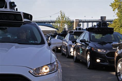 Uber Starts Self-driving Car Pickups In Pittsburgh
