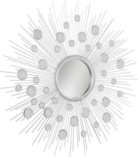 wanddeko metall silber home affaire wanddeko 187 spiegel 171 aus metall mit kleinen dekorativen spiegelelementen