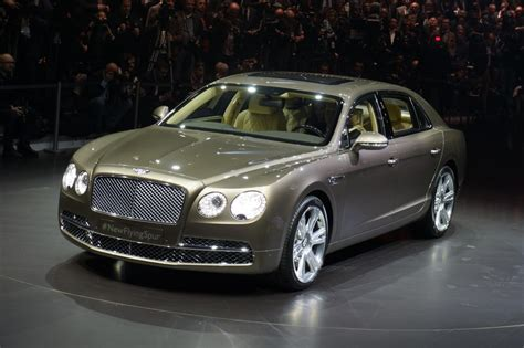 bentley geneva 2014 bentley flying spur live from geneva gallery