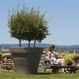 Arbre En Pot : pot de tr s grande taille en plastique rotomoul id al ~ Premium-room.com Idées de Décoration