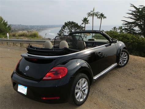 black convertible volkswagen beetle black convertible
