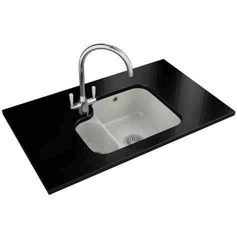kitchen sink bowl franke v and b vbk 160 ceramic white 1 5 bowl undermount 8500