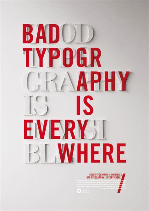 inspiration 40 typographic posters