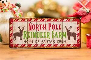 Dollhouse, Miniature, North, Pole, Reindeer, Farm, Sign, -, 1, 12, Dollhouse, Miniature