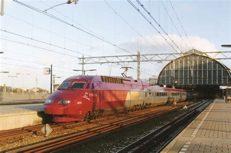 Thalys 4533 At Amsterdam Central Station On 24 October