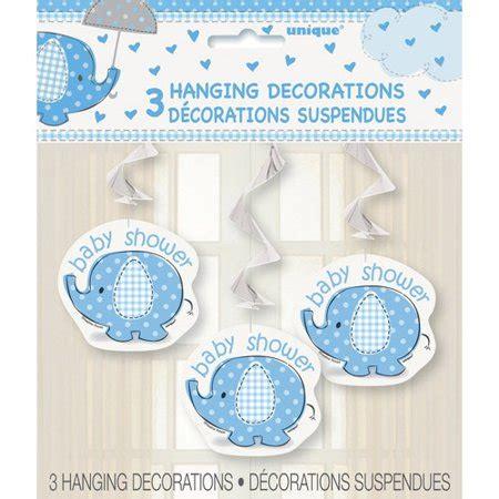 blue elephant baby shower decorations blue elephant baby shower hanging decorations 26in 3ct