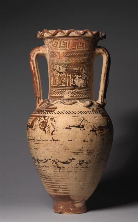 dipylon amphora cleveland museum  art