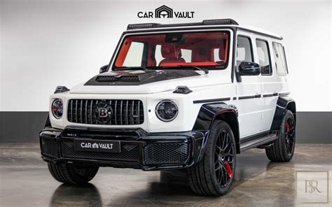 It is available in 6 colors, 3 variants, 2 engine, and 1 transmissions option: New 2020 Mercedes G63 700 Brabus white for sale   For Super Rich