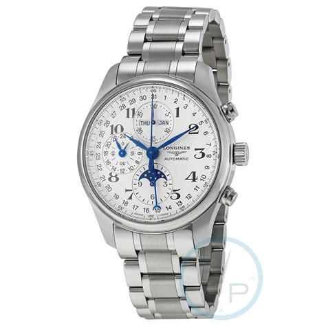Longines Master Collection Automatic Chronograph Men's ...