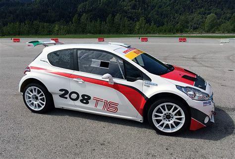 Peugeot 208 R5 Rally Car, Peugeot 208 Type R5