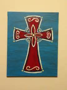 Painting Crosses On Canvas