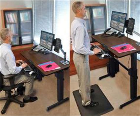 how to use a standing desk 3 ways to use the ergotron standing desk for work