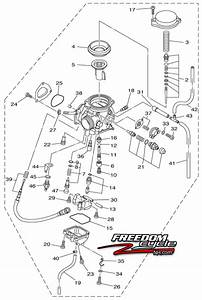 32 Yamaha Big Bear 400 Carburetor Diagram