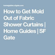 how to remove black mold mildew from washable fabrics