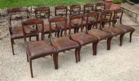 vintage dining chairs 13 regency mahogany antique dining chairs at 1stdibs 3185