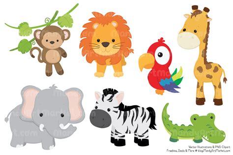 clipart jungle animals  clipground