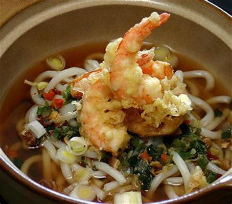 recette cuisine japonaise traditionnelle recette de tempura udon nouilles et beignets japonais