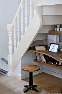 Bureau Sous Escalier : r novation d une ancienne maison de p cheur side return ~ Farleysfitness.com Idées de Décoration