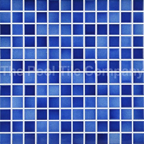 cmc twilight blue ceramic mosaic pool tiles