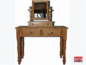 Solid Pine Wash Stand Dressing Table made by incite Derby