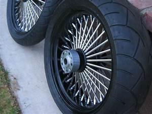 Fat Spoke Wheel    Tire Set