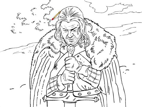 of thrones coloring pages a sneak peak at the of thrones coloring book winter