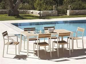 Table Et Chaise De Jardin En Bois : salon de jardin moderne 7 collections exclusives par ethimo ~ Teatrodelosmanantiales.com Idées de Décoration