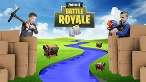 Twin Vs Twin Fortnite Battle Royale In Real Life 2 YouTube