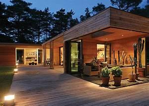 maison bois paca maison bois d39architecte r extension bois With maison en rondin prix 6 construire sa maison en bois en kit soi meme