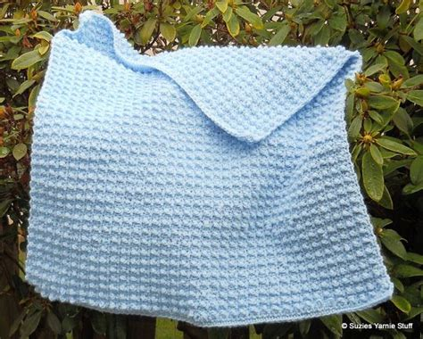 Free Pattern, Bibbity Bobbity Blue Baby Blanket (1 Skein Pound Of Love) Winnie The Pooh Crib Blanket Free Knitting Patterns For Baby Adults With Security Blankets Weighted Babies And Beyond Bunny Nunu What Are Receiving Pigs In A Sausage Camping Wool