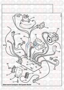 Glowworm Compact 100ss  Wiring Harness Diagram