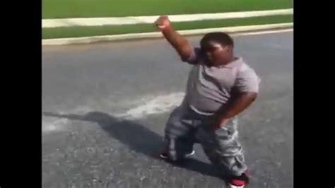 Black African Kid Dancing Meme - funniest fat black kid ever youtube