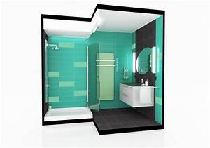 Deco Salle D Eau : d co salle d 39 eau conception aedifi infographiste 3d en architecture ~ Teatrodelosmanantiales.com Idées de Décoration
