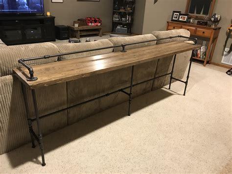 Sofa Table Bar Sofa Table With Bar Stools