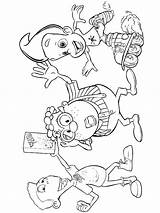 Neutron Jimmy Coloring Pages sketch template