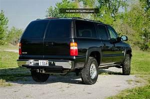 2003 Chevrolet Suburban Lt K2500 3    4 Ton 4wd  8  1l 496  Black With