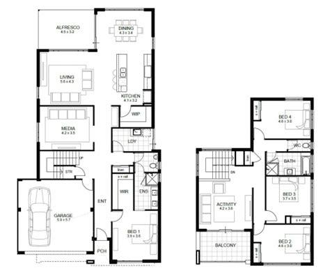 4 bedroom house plan four bedroom floor plan house floor plans