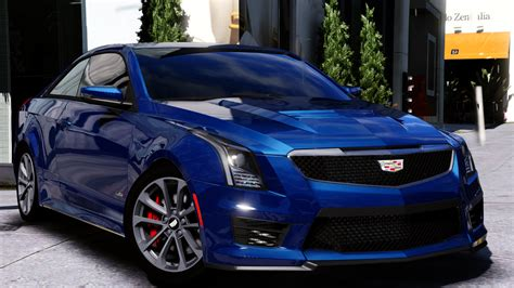 cadillac ats  coupe add  replace gta modscom