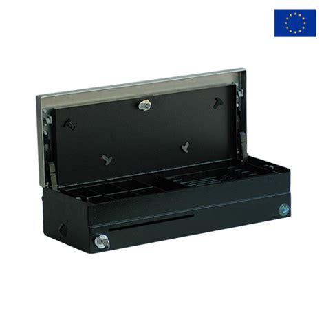 tiroir caisse manuel avec ouverture verticale et bouton poussoir