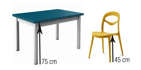 cuisine avec snack bar quelle hauteur de chaises et tabourets choisir en fonction