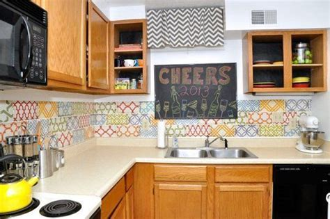 ideas  removable diy kitchen backsplashes diy